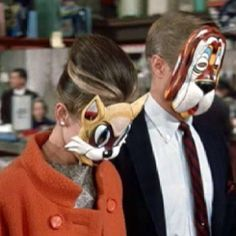 Because we all wish to wear animal masks with sticky fingers ;)