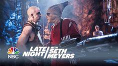 Seth Meyers Plays an Annoyingly Sensible War Boy in a Parody of Mad Max: Fury Road