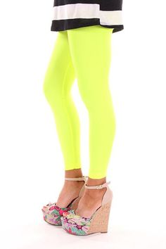 Shop for yours today!! Order online NOW. Neon Yellow Legging by Mainelementsapparel on Etsy, $19.99