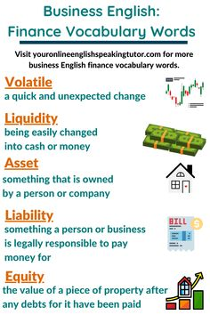 15 Business English Finance Vocabulary Words You Need to Know Improve English Speaking, English Learning Spoken, English Language Learning, English Vocabulary Words, English Phrases, Learn English Words, Essay Writing Skills, English Writing Skills, Interesting English Words