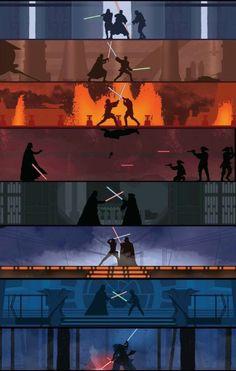 Sparring - Star Wars