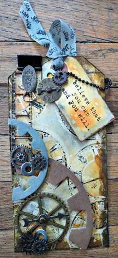 NicollelovesScrapbooking.com: Tim Holtz 12 Tags of 2013 - January