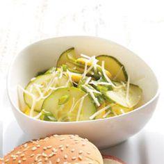 Cucumber & Yellow Squash Summer Salad