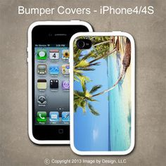 Palm Trees - I Phone 4, 4s Bumper Cover
