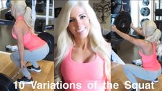 My friend Buff Bunny shows you 10 VARIATIONS OF A SQUAT @heidisomers Check out Buff Bunny at www.instagram.com/BUFFBUNNY www.Facebook.com/HeidiSomersFit www.Twitter.com/HeidiSomers