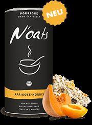 Noats Bio-Porridge - VEGAN -  -  APRIKOSE-KÜRBIS - VANILLEKIPFERL - HIMBEER-KOKOS-KIRSCH - KLASSISCH-PUR - PFLAUME-APFEL-ZIMT - ROSINE