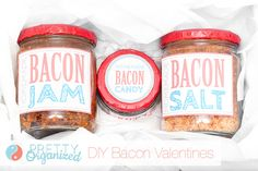 Bacon Recipes and Valentine's Day Cards