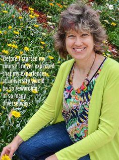 Find out more about USQ student Tracy Holt in HeyU 38 http://www.usq.edu.au/SocialHub/behind-the-scenes/2015/09/heyu38