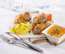 Recept Kapsy z vepřového plecka plněné kyselým zelím - Recept z kategorie Hlavní jídla - maso