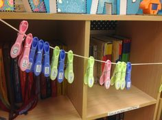 Using Clothespins to order fractions, decimals, and percents - a quick and easy math center