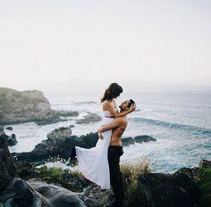 En un acantilado, sobre las Red Rocks de Arizona... Preciosas fotos de bodas que te sorprenderán - Foto 2