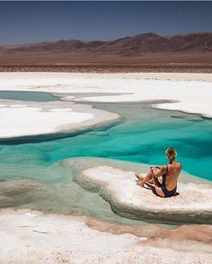 7 Things To Add to Your Chile Bucket List - Passion Passport - 7 Things To Add to Your Chile Bucket List – Passion Passport (Atacama Desert Oasis Pools, Chile) Bucket List Chile Sunbathe in the desert. South America Destinations, South America Travel, Places To Travel, Places To Go, Travel Destinations, Desert Oasis, Peru Ecuador, Oasis Pool, Visit Chile