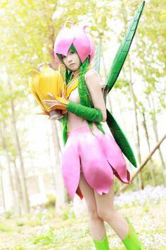 Lilymon cosplay