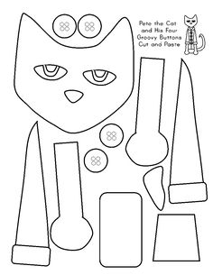 Sparkling In Kindergarten: Favorite Pin Friday Linky Party (Favorite Pins Link) Cat Crafts, Book Crafts, Cat Coloring Page, Coloring Pages, Coloring Sheets, Pete The Cat, Cat Activity, Memorial Day, Beginning Of School