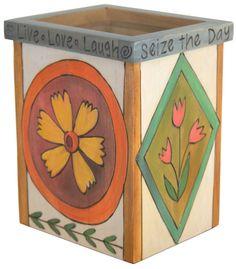 Sticks Utensil Box/Vase 6190
