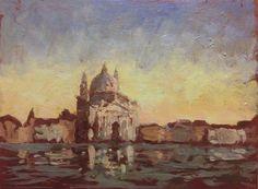 Maciej Baran, Basilica del Santissimo Redentore, 18 x 24 cm, Wenecja 2013