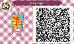Super Cute Animal Crossing New Leaf ACNL Pancake flag ! http://animalcrossingcloset.tumblr.com/post/57349491095/a-little-design-i-made-for-my-friends-flag-d