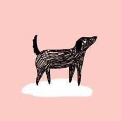Illustration Aloÿse Mendoza - le chien - pet me