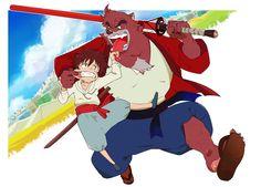 The Boy and the Beast #Kumatetsu #Kyuta (by ちさ)