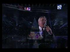 Ancelotti cantando 'Hala Madrid y Nada Más', la canción de la Décima