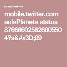 mobile.twitter.com aulaPlaneta status 876666025626005504?s=09