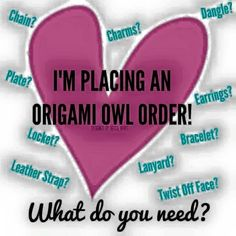 Create your own custom jewelry at Www.sid1994.origamiowl.com