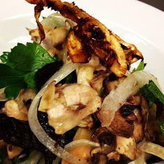 Shaved Mushroom Salad    II    @vikingrange