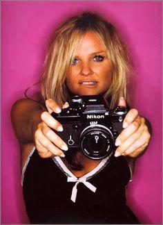 Emma Bunton with Nikon