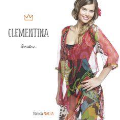 Transparencias si o si #tunica nadia modelo #clementinabcn www.clementina-bcn.com estilo casual chic mujer coleccion primavera verano 2014