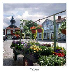 """""""Fim do mundo"""" (Trosa, Södermanland. Suécia) - Situada à foz do rio Trosaån, Trosa é uma pequena e bela cidade histórica da província de Södermanland, com pouco mais de 4.000 habitantes."""