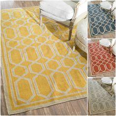 nuLOOM Flatwoven Indoor/ Outdoor Trellis Fancy Rug (4' x 6') - Overstock Shopping - Great Deals on Nuloom 3x5 - 4x6 Rugs