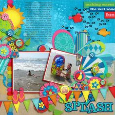 Kit: Swim Like a Fish by Clever Monkey Graphics http://shop.scrapmatters.com/swim-like-a-fish-by-clever-monkey-graphics.html