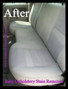 The Homestead Survival | Easy CAR Upholstery Stain Remover Recipe | http://thehomesteadsurvival.com