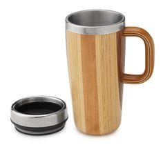 Handmade Wooden Travel Mug
