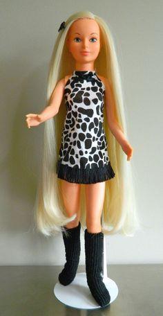 1977 IDEAL Magic Hair Crissy Doll Custom ReRoot by SugarSlax, $70.00