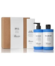 Baxter Skin 1.2.3 - The Emporium Barber Mens Skin Care Kit