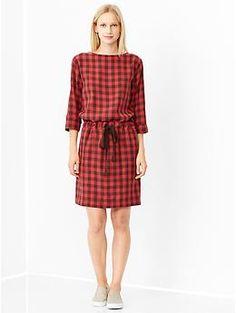 Printed boatneck dress | Gap 44.95€ #Gap #ShoppingPicks