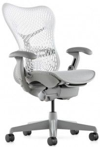 Mirra - Office Chair - Herman Miller Still haven't tested the chairs yet, so it may be an Embody or a Aeron instead Herman Miller, Cool Office Desk, Best Office Chair, Work Chair, House Furniture Design, Original Design, Ergonomic Chair, Executive Chair, Chairs