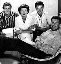 """""""Ozzie & Harriet"""", with Ricky and David Nelson"""