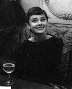 ♔ Audrey Hepburn in Paris 1955