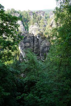 @ Bastei \ Sächsische Schweiz in Germany.