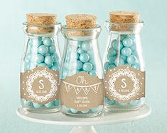 Personalized Milk Jar - Rustic Charm Baby Shower (Set of 12) | The Aspen Shops