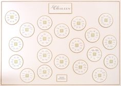 Wedding table plan from www.tableplans.net - loads of great designs here!