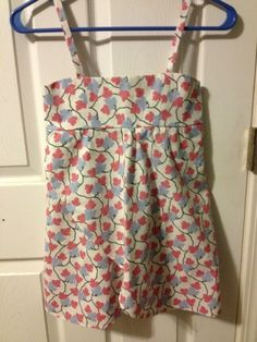 Sewing for girls and babies. Five brief pattern reviews.