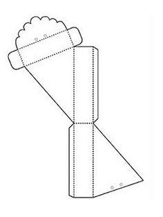 Ateliê da Sandrynnha: Moldes de caixas