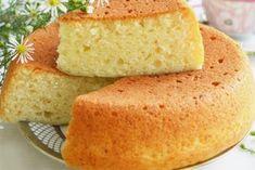 Нежный и пышный бисквит на кефире без яиц
