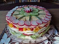 Party - Salattorte (Rezept mit Bild) von Paradiesabbel | Chefkoch.de