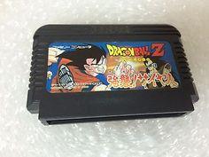 Dragon Ball Z Saishuu! Saiyajin Famicom Japan Bandai Nintendo Family Computer
