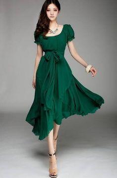 Welche schuhe zum smaragdgrunen kleid