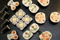Ken Kawasumi sushi art